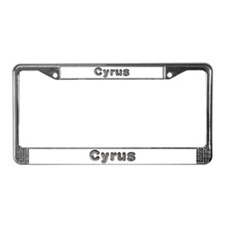 Cyrus Wolf License Plate Frame