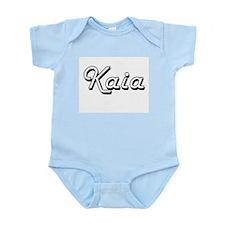 Kaia Classic Retro Name Design Body Suit