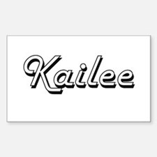 Kailee Classic Retro Name Design Decal