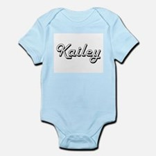 Kailey Classic Retro Name Design Body Suit