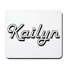 Kailyn Classic Retro Name Design Mousepad