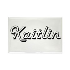 Kaitlin Classic Retro Name Design Magnets