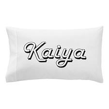 Kaiya Classic Retro Name Design Pillow Case