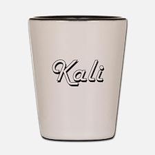 Kali Classic Retro Name Design Shot Glass