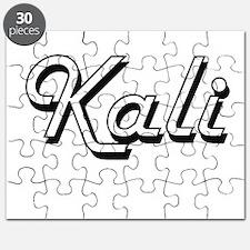 Kali Classic Retro Name Design Puzzle