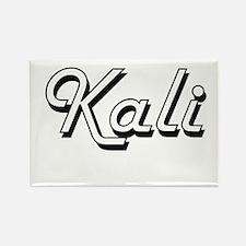 Kali Classic Retro Name Design Magnets