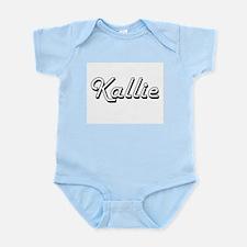 Kallie Classic Retro Name Design Body Suit