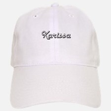 Karissa Classic Retro Name Design Baseball Baseball Cap