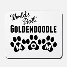 Worlds Best Goldendoodle Mom Mousepad
