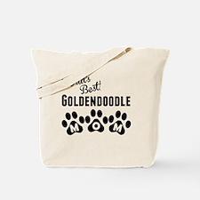 Worlds Best Goldendoodle Mom Tote Bag