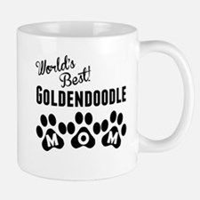 Worlds Best Goldendoodle Mom Mugs