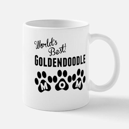 Worlds Best Goldendoodle Mom Mugs