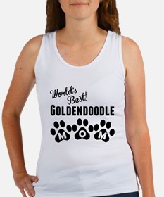 Worlds Best Goldendoodle Mom Tank Top