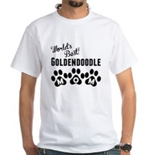 Worlds Best Goldendoodle Mom T-Shirt