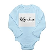 Karlee Classic Retro Name Design Body Suit