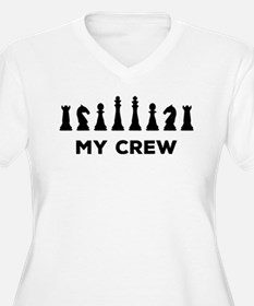 Witty Chess Player Plus Size T-Shirt
