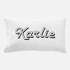 Karlie Classic Retro Name Design Pillow Case