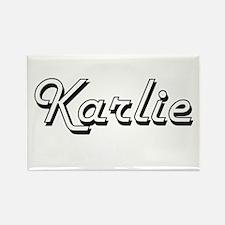 Karlie Classic Retro Name Design Magnets