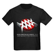 WMA Kids Black T-Shirt