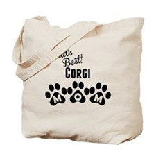 Worlds Best Corgi Mom Tote Bag