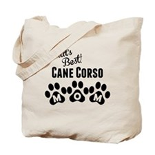 Worlds Best Cane Corso Mom Tote Bag
