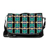 Art deco Laptop Messenger Bags
