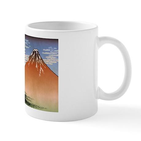 Ukiyoe Mt. Fuji Mug