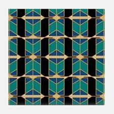 Art Deco Motif Tile Coaster