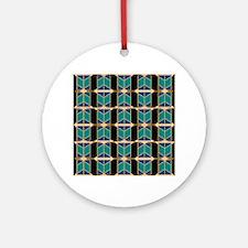 Art Deco Motif Ornament (Round)
