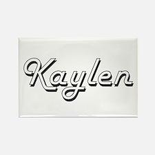 Kaylen Classic Retro Name Design Magnets