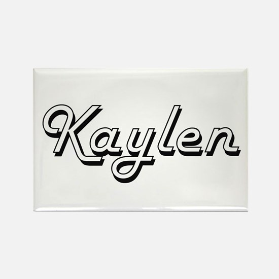 Kaylen Classic Retro Name Design Magnets