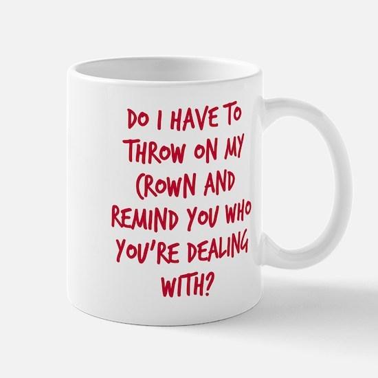 Princess crown Mug