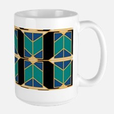 Art Deco Motif Mugs