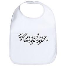 Kaylyn Classic Retro Name Design Bib