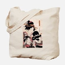 Ukiyoe Geisha Night Out Tote Bag