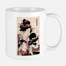 Ukiyoe Geisha Night Out Mug