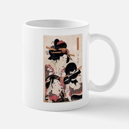 Ukiyoe Geisha Night Out Mug