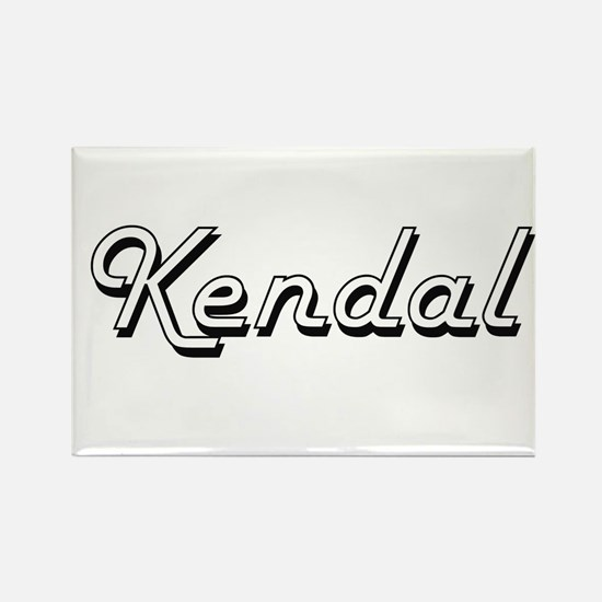 Kendal Classic Retro Name Design Magnets