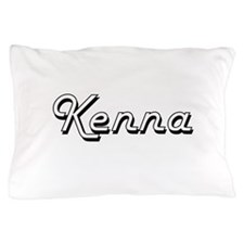 Kenna Classic Retro Name Design Pillow Case