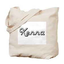 Kenna Classic Retro Name Design Tote Bag