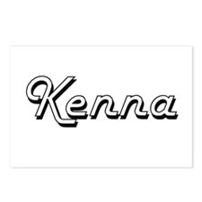 Kenna Classic Retro Name Postcards (Package of 8)