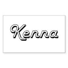 Kenna Classic Retro Name Design Decal