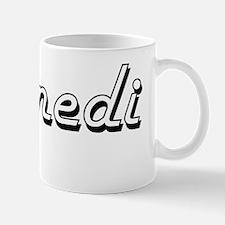 Kennedi Classic Retro Name Design Small Small Mug
