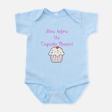 Cute Cupcake birthday party Infant Bodysuit