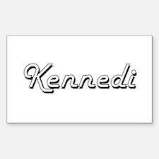 Kennedi Classic Retro Name Design Decal