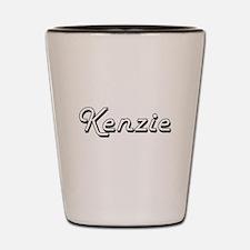 Kenzie Classic Retro Name Design Shot Glass
