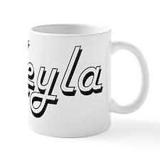 Keyla Classic Retro Name Design Mug