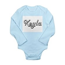 Keyla Classic Retro Name Design Body Suit
