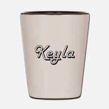 Keyla Classic Retro Name Design Shot Glass