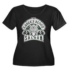 eaglesbloodsaloon Plus Size T-Shirt